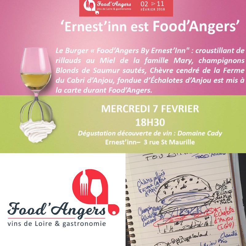 LE BURGER FOOD'ANGERS!!!